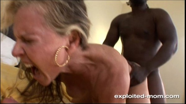 on back Milf her