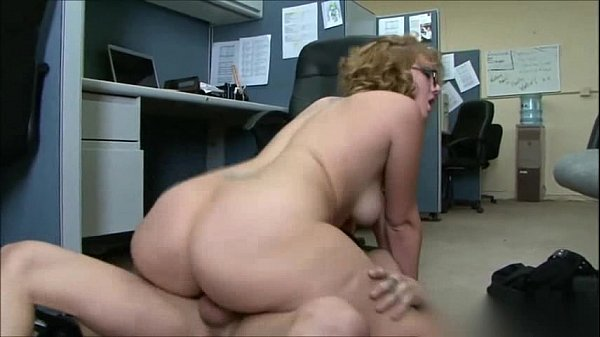 Office big ass sex