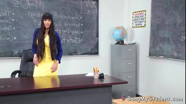 image Hot latina teacher mercedes carrera fucks her nerdy student