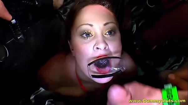 Romantic boob fucking