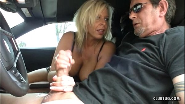 Milf blackmails car jacking suspect gets