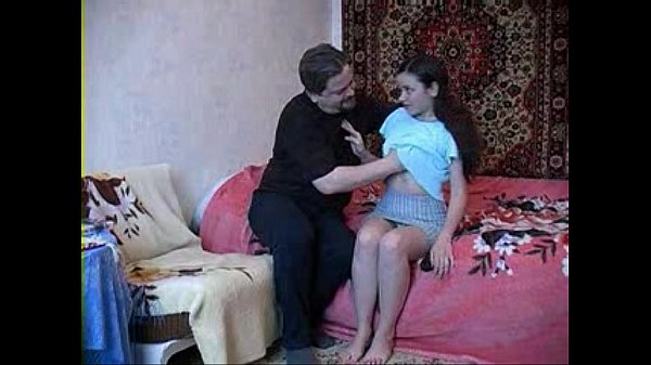 19 years old stepdaughter with dad...