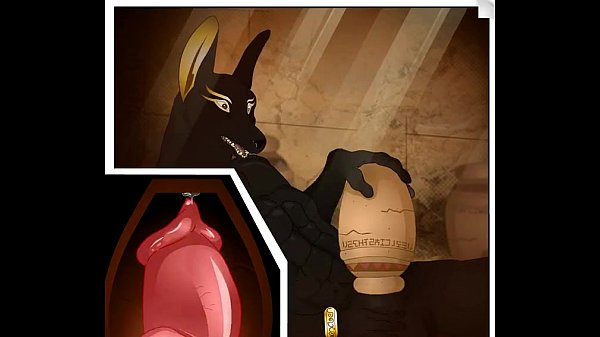 image Garyu anubis furry yiff masturbation animation