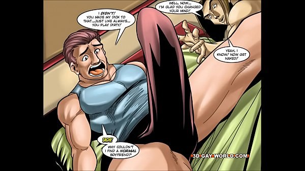3d Cartoon Superhero Porn