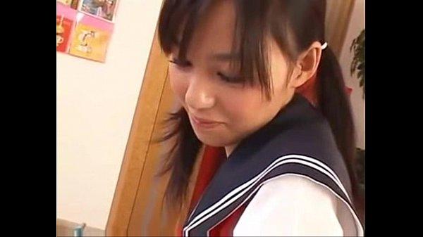 【希志あいの】セーラー服が似合う可愛い女の子がオナサポ