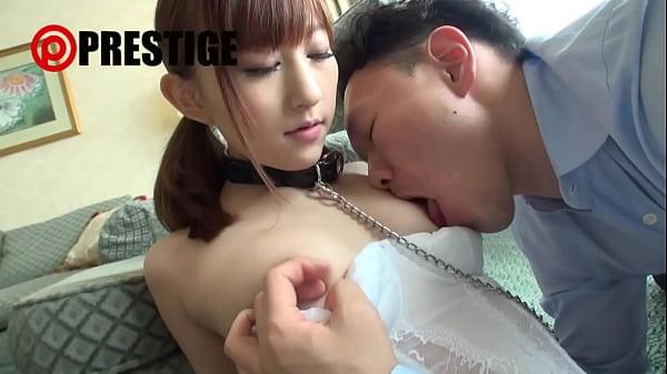 首輪をハメられた御嬢様の杏咲望が性奴隷に大変身して調教される。