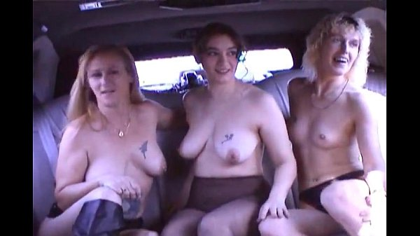 swingers fucking in a limo...