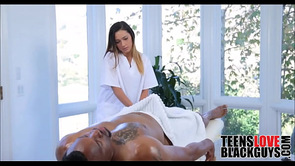 Step father massage step daughter oil
