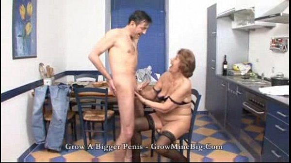 mature fuck in the Kitchen...