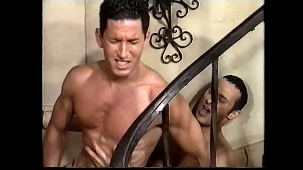 ,interracial,staircase,-kissing