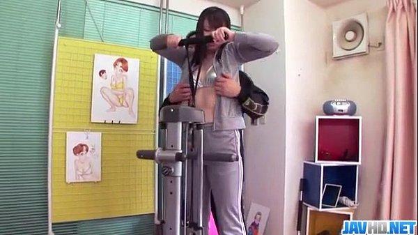 (無修正)【蘭堂セイラ】 全裸ジムで膣内トレーニングwボテっ腹もスッキリ気持ち良く鍛えちゃうwの無料エロ動画