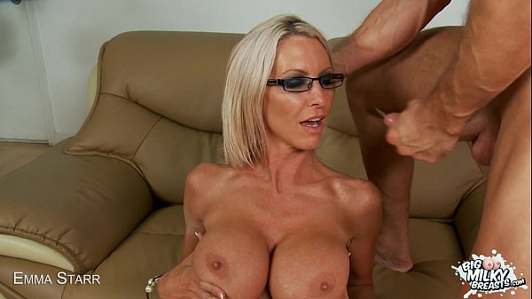 emma starr s big milky tits bounce while she rides cock
