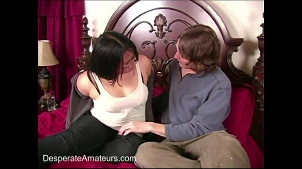 Desperate Amateurs casting milf Angie stripp...