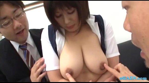 Big boobs office lady big tits sexual harassment 04 10