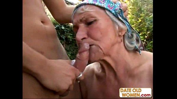 Ugly Hairy Granny Fucks...