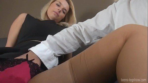 Large erect female clitoris