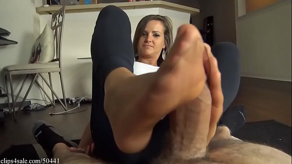 cam wichsen nylon footjob