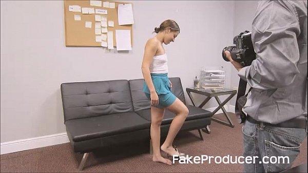 Fakeproducer tricks petite latina into casting blowjob