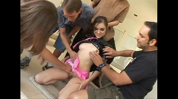 Videos de Sexo Gangbang com sasha grey