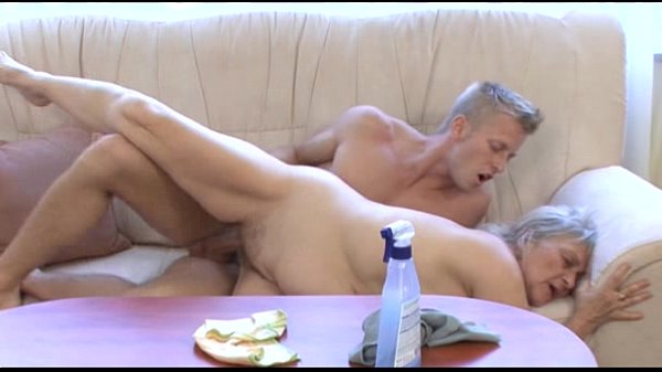 Mature whore fucks younger dude...