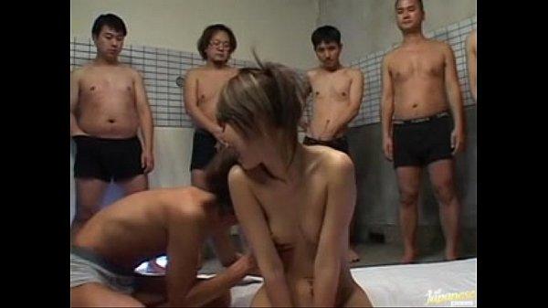 Yu Kawano Gets Creampied In A Gangbang...