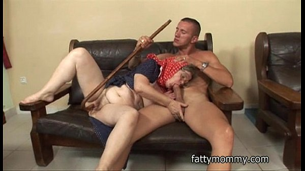mature amazing granny hungry young man sex o...