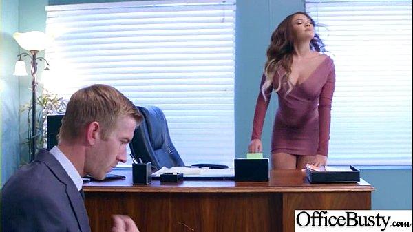 Busty blonde secretary Alix Lynx seducing her boss with blowjob № 1679472 бесплатно