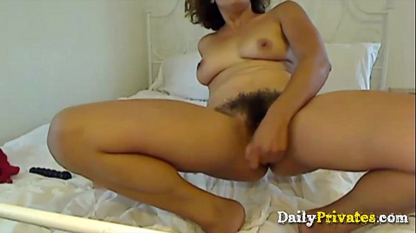 Bitch hairy bush squirts this