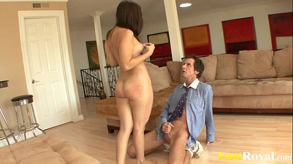Lucky old-fellow got a taste of Gracie Glam...