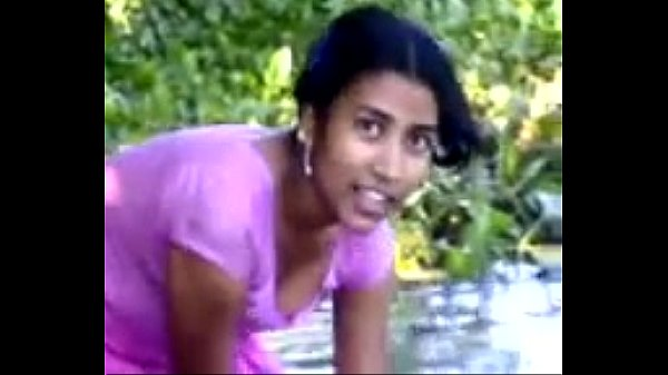 Indian nude village girl bathing river