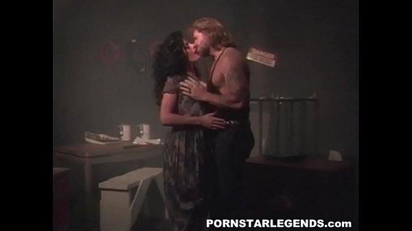 Porn slut double fucked in threeway in back ...