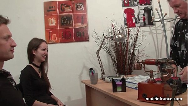 Amateur anal casting couch of a skinny frenc...