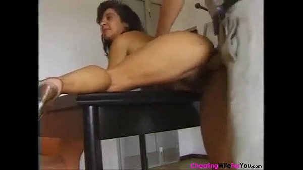 Italian hairy mature gets her pussy Filled...