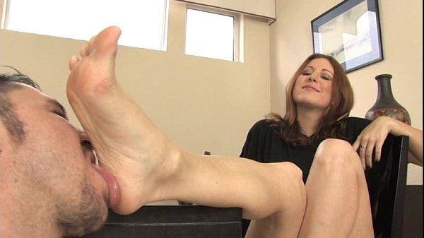 Cuckold Foot Clean up after Footjob  Pornhubcom