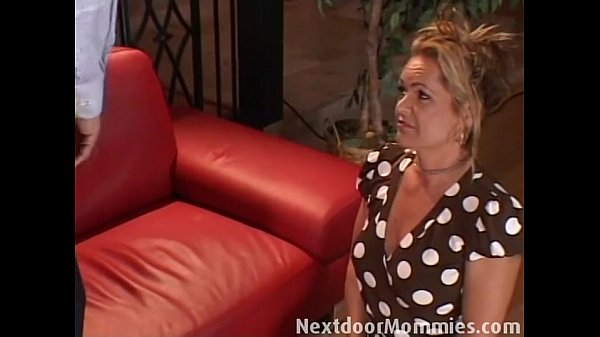 Cock hungry mother fucked on the couch...