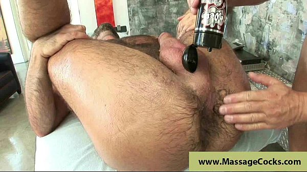 Massagecocks Oily Cock Blowing