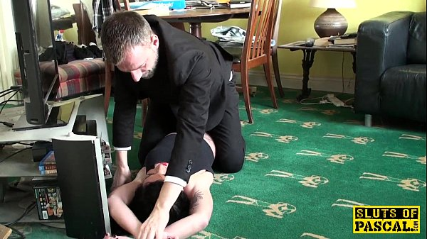 Squirting uk sub assfucked roughly by maledom 8