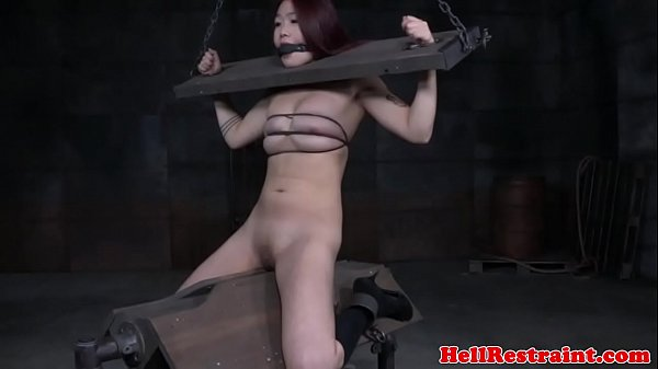 Bdsm maledom bonded and brutally fucked slaves 8