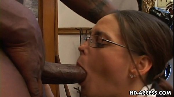 Experienced cheyenne hunter milks a bbc dry 3