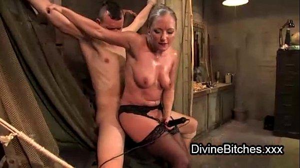 Fucking loving Tied up bondage female domination