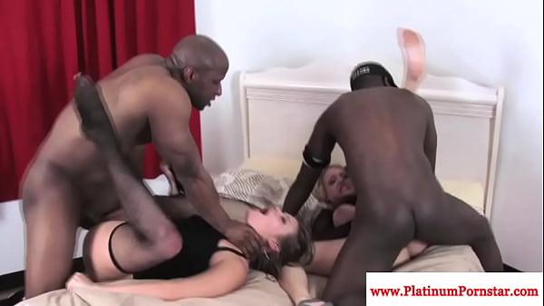 Tristyn kennedy interacial foursome fun