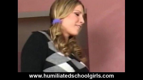 schoolgirl Chokes On Orgy Cocks...