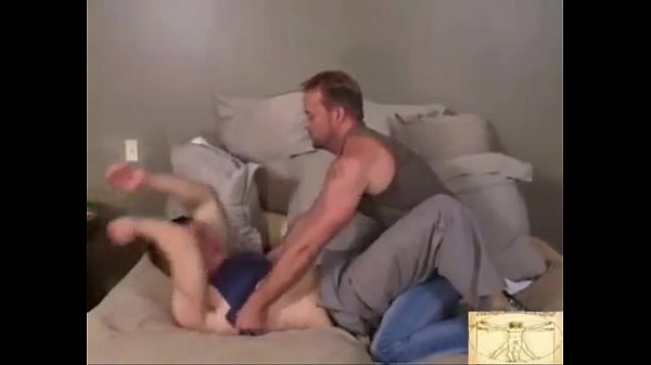 Hot gay couple daddy and his boy 3 min