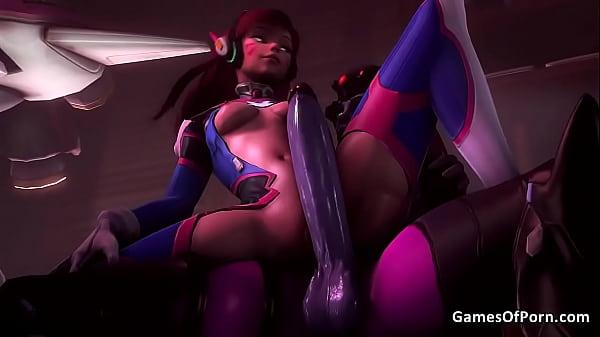 Overwatch widowmaker hot fuck and twerking