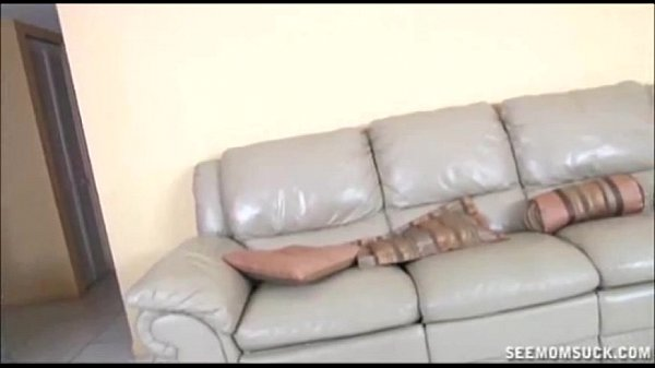 Double handjob on the couch