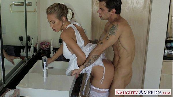 8 Min Sexy Bride Having Her Fisrt Sex After Wedding Nicole Aniston Sex Video