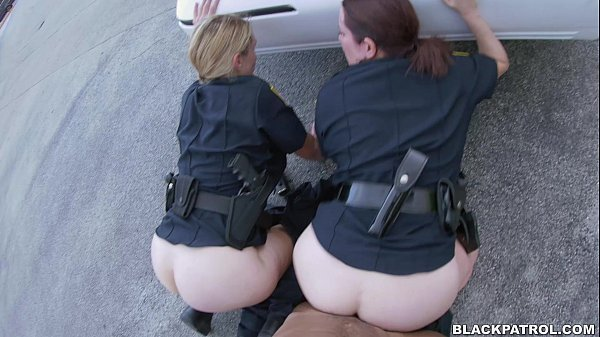 image Black cop white teen and police pov blowjob