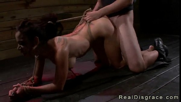 Tied up babe fucked porn final