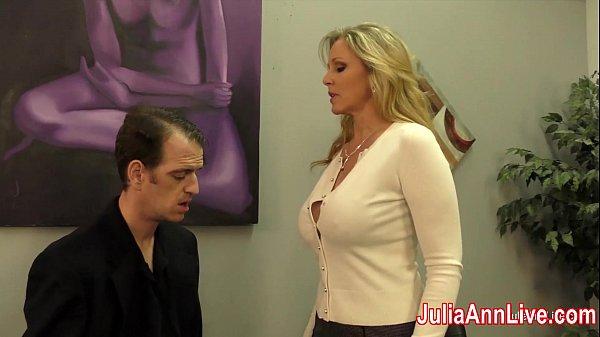image Julia ann milks stepson before his date