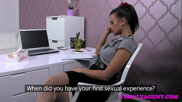 Femaleagent lucky stud fucks on agents desk 4
